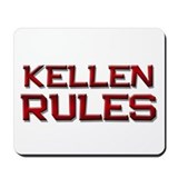 kellen rules Mousepad