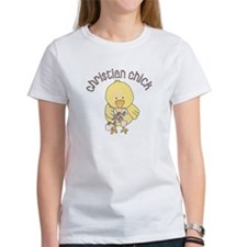 Christian Chick Easter Tee