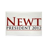 Newt President 2012 Rectangle Magnet
