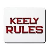 keely rules Mousepad