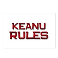 keanu rules Postcards (Package of 8)