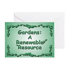 Renewable Greeting Card