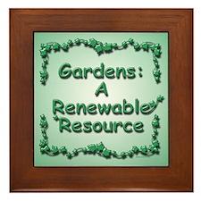 Renewable Framed Tile