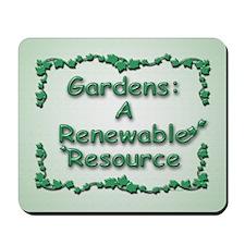 Renewable Mousepad