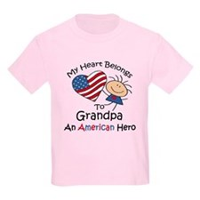 My Heart Belongs to Grandpa T-Shirt
