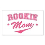 Rookie Mom Rectangle Sticker
