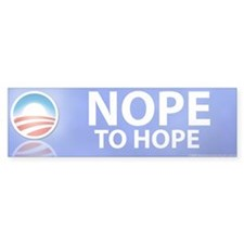 Nope to Hope (Bumper Sticker)