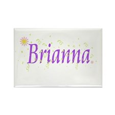 Cute Brianna Rectangle Magnet (100 pack)