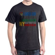 Blessing 5 Autistic Nieces T-Shirt