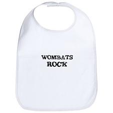 WOMBATS ROCK Bib
