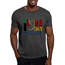 I Love My Autistic Students 2 T-Shirt