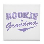 Rookie Grandma Tile Coaster