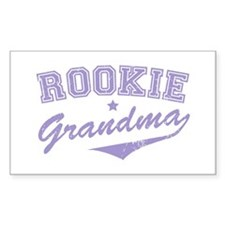 Rookie Grandma Rectangle Decal