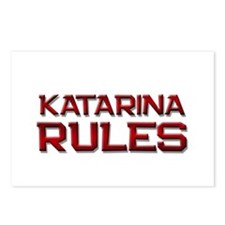 katarina rules Postcards (Package of 8)