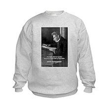 Truth Existentialist Kierkegaard Kids Sweatshirt