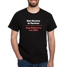 Ban Mercury Black T-Shirt