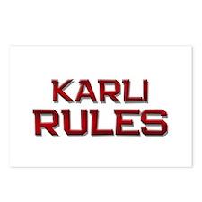 karli rules Postcards (Package of 8)