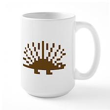Pixel Porcupine Ceramic Mugs