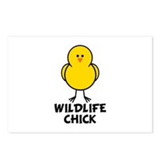 Wildlife Chick Postcards (Package of 8)
