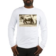 Funny Friesian Long Sleeve T-Shirt