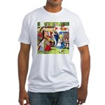 ALICE & THE QUEEN OF HEARTS Fitted T-Shirt