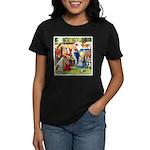 ALICE & THE QUEEN OF HEARTS Women's Dark T-Shirt