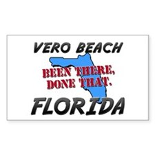 vero beach florida - been there, done that Decal