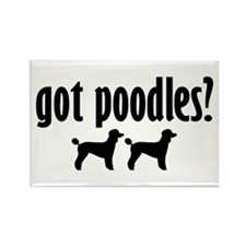 Got Poodles? (2) Rectangle Magnet