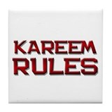 kareem rules Tile Coaster