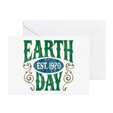 Earth Day Est. 1970 Greeting Cards (Pk of 20)