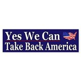 Take Back America - Bumper Bumper Sticker