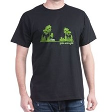 Twilight Shirt- Forks,Washington Tree Line T-Shirt