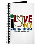 I Love My Autistic Nephew 2 Journal