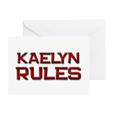 kaelyn rules Greeting Card