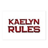 kaelyn rules Postcards (Package of 8)