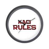 kaci rules Wall Clock