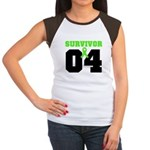 Lymphoma Survivor 4 Years Women's Cap Sleeve T-Shi