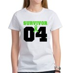 Lymphoma Survivor 4 Years Women's T-Shirt