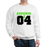 Lymphoma Survivor 4 Years Sweatshirt