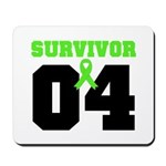 Lymphoma Survivor 4 Years Mousepad