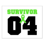 Lymphoma Survivor 4 Years Small Poster