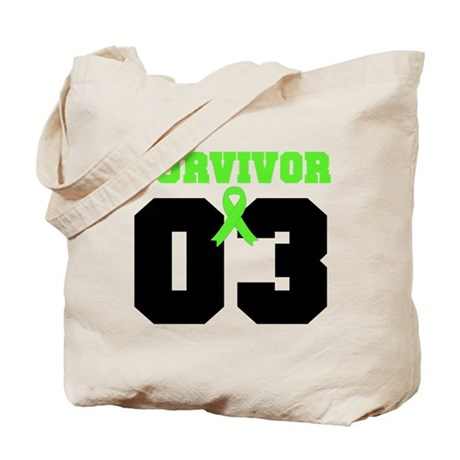 Lymphoma Survivor 3 Years Tote Bag
