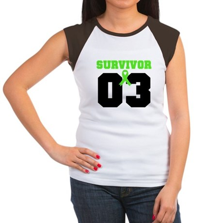 Lymphoma Survivor 3 Years Women's Cap Sleeve T-Shi