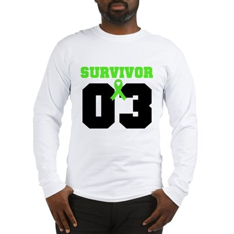 Lymphoma Survivor 3 Years Long Sleeve T-Shirt