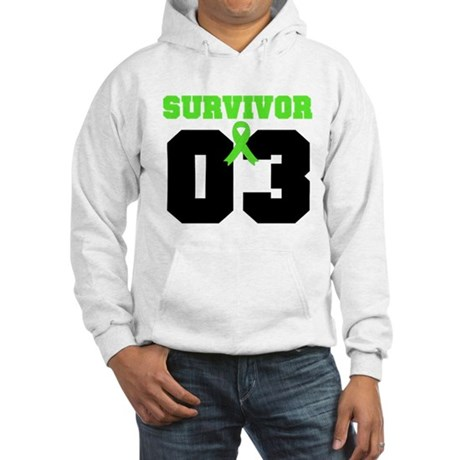 Lymphoma Survivor 3 Years Hooded Sweatshirt