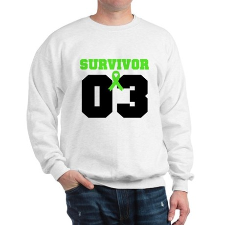 Lymphoma Survivor 3 Years Sweatshirt