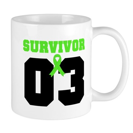 Lymphoma Survivor 3 Years Mug