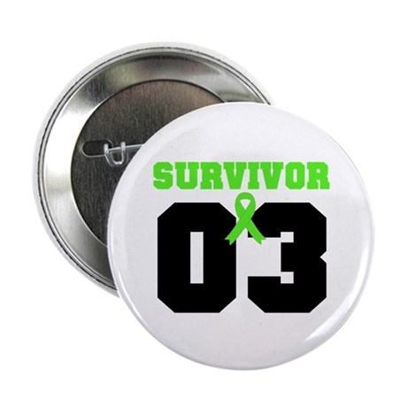"Lymphoma Survivor 3 Years 2.25"" Button (100 pack)"