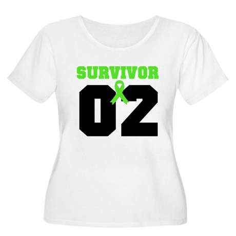 Lymphoma Survivor 2 Years Women's Plus Size Scoop
