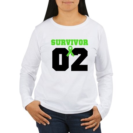 Lymphoma Survivor 2 Years Women's Long Sleeve T-Sh
